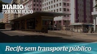 Popula��o fica sem transporte nesta sexta-feira no Recife
