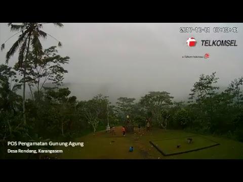 Live Streaming Pemantauan Aktivitas Gunung Agung