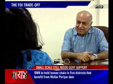 FDI in India. Chennai speaks. For NDTV HINDU 09/12/11