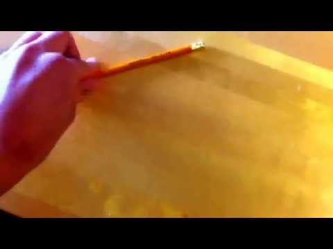 How to pick up a pencil