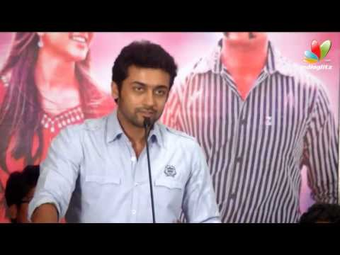 Surya Speaks In Singam 2 Success Meet | Anushka, Hansika, Hari, Nasser, Dsp, Rahman, Vivek video