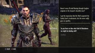 #ESO STORYLINE w/ DIALOG: Craglorn main story COMPLETED(Solo)