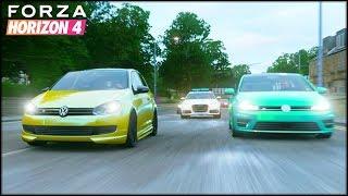 GOLF 2010 VS GOLF 2014 | Forza Horizon 4