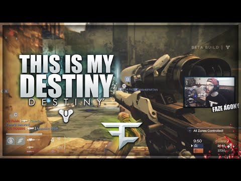Faze Agony: This Is My Destiny! (destiny Online Sniping Clips & Funny Moments) video