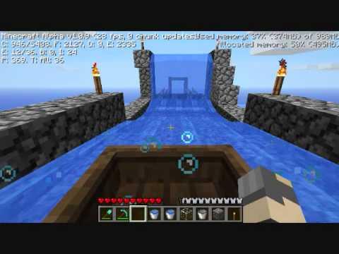 Rocket Water Slide Minecraft Water Slide