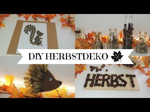 HERBSTDEKO MIT NATURMATERIALIEN I DIY