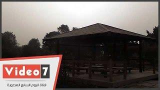 سوء الأحوال الجوية يمنع احتفال الأقباط فى حدائق حلوان