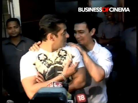 3 Idiots gang Aamir Khan, Vidhu Vinod Chopra, Rajkumar Hirani watch Salman Khan's Dabangg