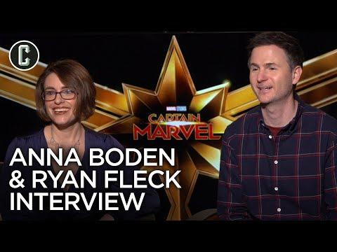 Captain Marvel Directors: Anna Boden & Ryan Fleck Interview