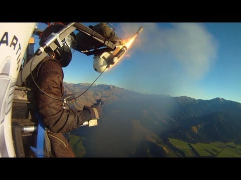 Martin Jetpack 5000ft flight - highlights