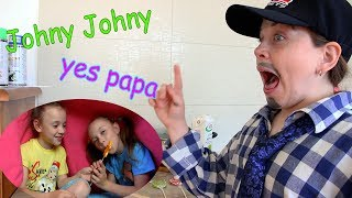 Johny Johny Yes Papa !Nursery Rhymes for Kids,Toddlers and BabiesVersion with Сandy