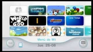 Wii video promocional ML