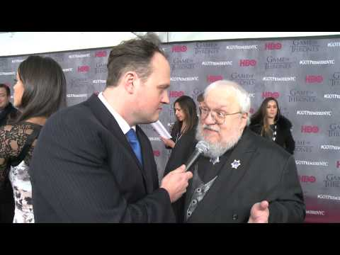 George RR Martin talks Game of Thrones S4 & Southpark's Floppy Wieners with Brad BlanksGOT