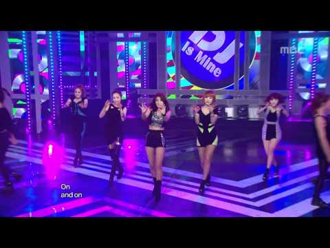 Wonder Girls - The DJ is mine, 원더걸스 - 디제이 이즈 마인, Music Core 20120609