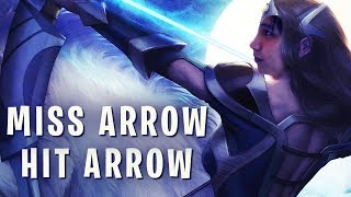 MISS ARROW, HIT ARROW STRAT (SingSing Dota 2 Highlights #1250)