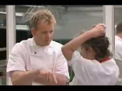 gordon Ramsay nearly getz bitchslapped lol