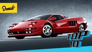 Top 10 Supercars From the 90