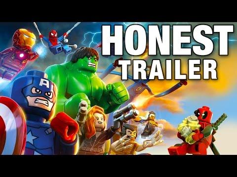 LEGO MARVEL SUPER HEROES (Honest Game Trailers)