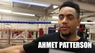 'IF I GOT A CALL TO FIGHT LIAM SMITH FOR WORLD TITLE, I WOULD 110% FIGHT HIM!' - AHMET PATTERSON