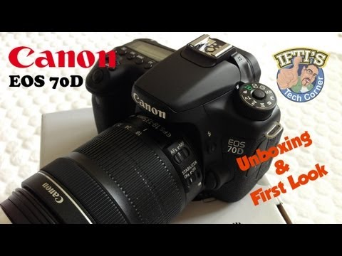 Canon Eos 70D DSLR - Unboxing & First Look / Review
