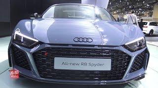 2020 Audi R8 Spyder - Exterior And Interior Walkaround - 2019 Toronto Auto Show