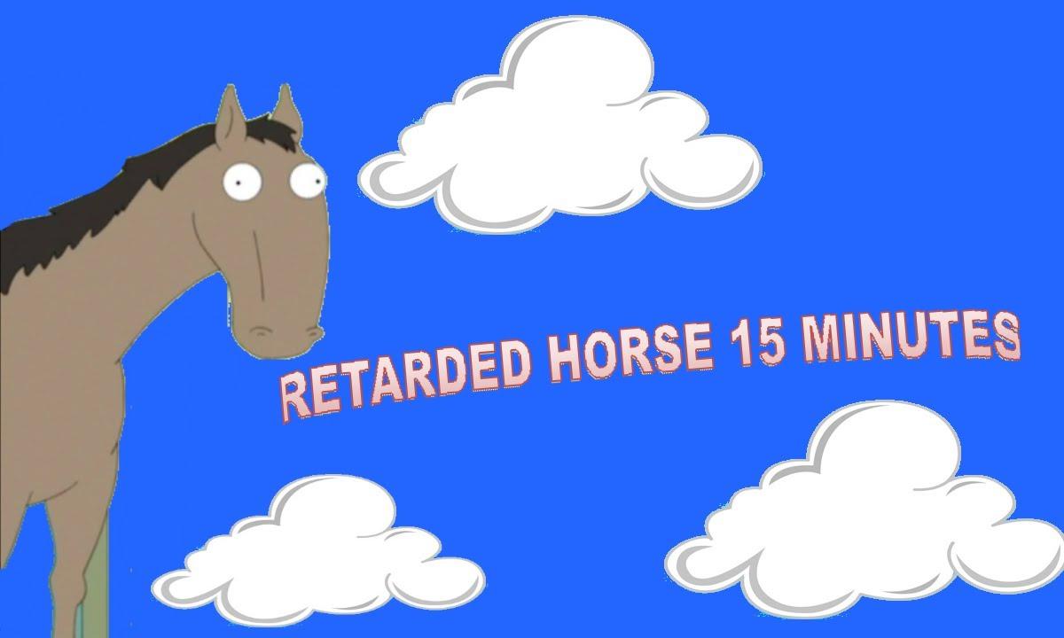 Family guy Retarded horse 15 minutes - YouTube