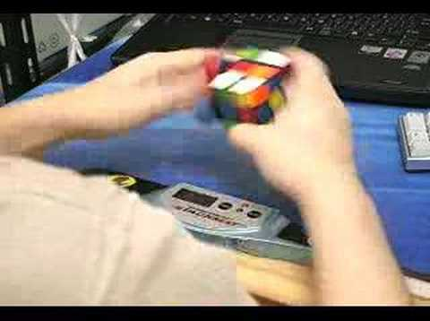 Rubik's Cube: 10.56 seconds