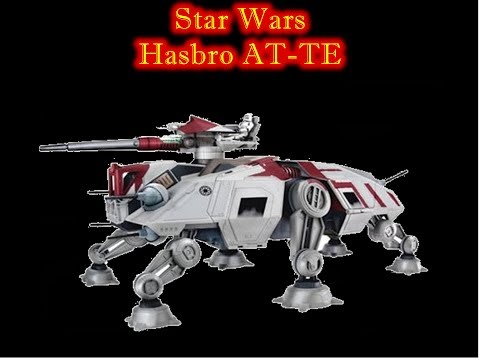 MrByZ Reviews Episode #106 Star Wars Hasbro Clone Wars AT-TE Review