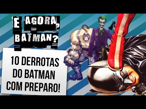 10 PERSONAGENS QUE ESPANCARAM O BATMAN | Ei Nerd