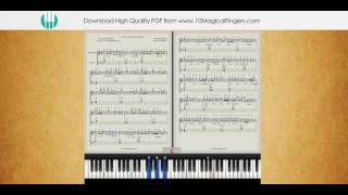 download lagu Humsafar Badrinath Ki Dulhaniya Piano Notations + Tutorial + gratis
