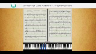 Humsafar (Badrinath Ki Dulhaniya) Piano Notations + Tutorial + Chords
