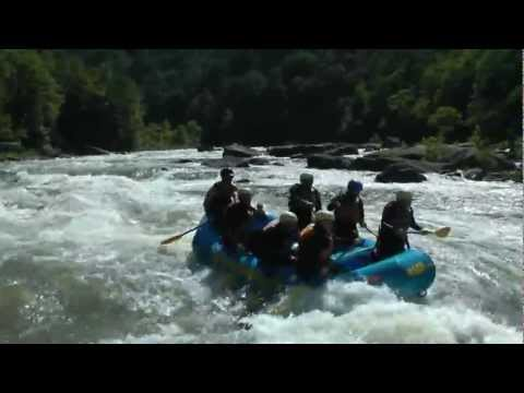 Pure Screaming Hell Rapid - Summer Gauley River