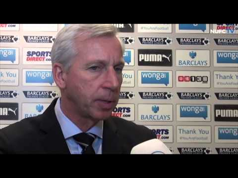 Alan Pardew and Moussa Sissoko on QPR win