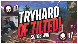 THEY'RE MAKING ME TRYHARD! 17 KILL SOLO WIN (Fortnite BR Full Match)