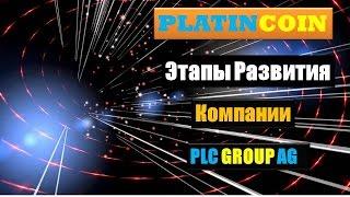 PLATINCOIN Платинкоин - Этапы Развития компании PLC GROUP AG