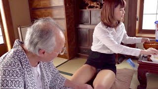 Sister visit sick grandpa .japan family Vlog