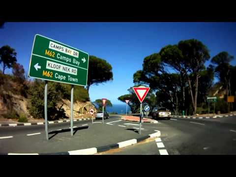 Cape Town city tour by motorbike.