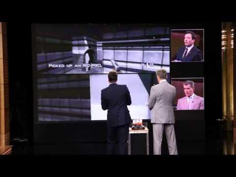 Watch Pierce Brosnan Play Jimmy Fallon In GoldenEye 007