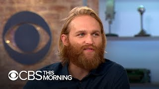 "Actor Wyatt Russell on the ""existential journey"" of his character in ""Lodge 49"""