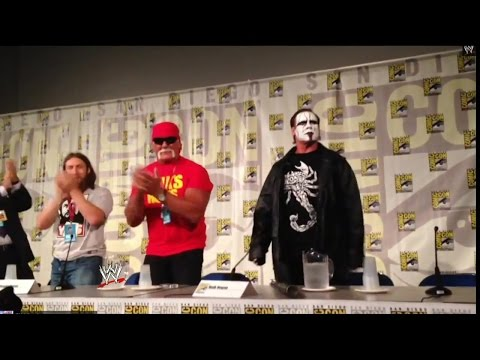 Sting Makes An Appearance At San Diego Comic Con 2014 video