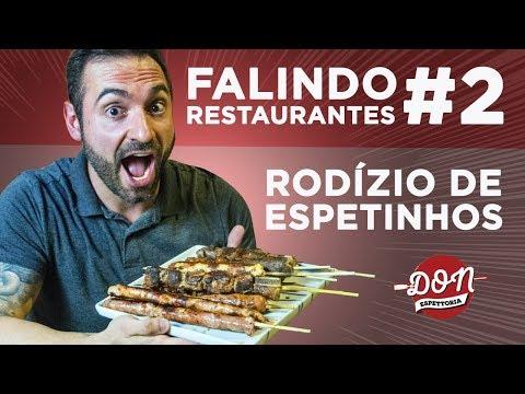 Falindo Restaurantes #2 - Rodízio de espetinhos de carne!!!