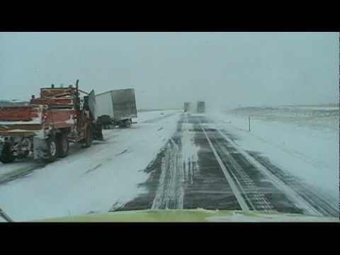 Truck Driving in Winter Weather