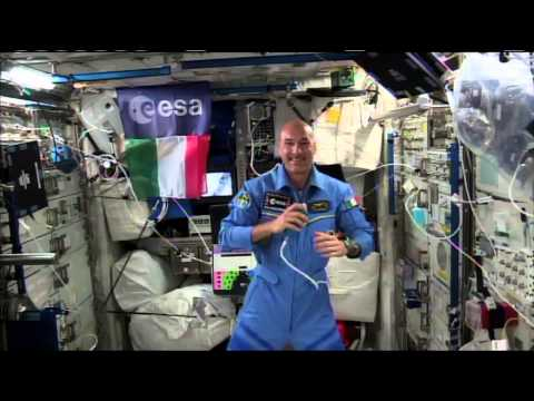 Expedition36 Space Station Crew Talks with Euronews