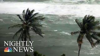 Download Category 4 Hurricane Maria Takes Aim At Puerto Rico, Virgin Islands | NBC Nightly News 3Gp Mp4