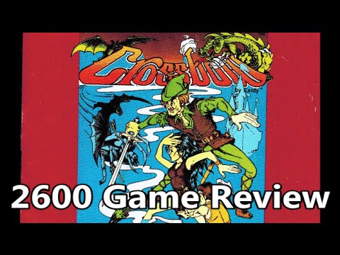 Crossbow Atari 2600 Review The No Swear Gamer Ep 223