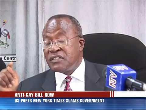 NY Times pens Editorial on Uganda's Gay-bill