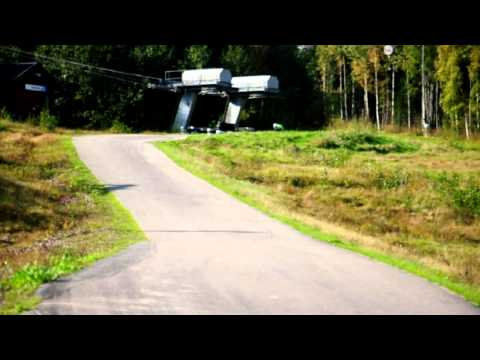 Downhill Skateboarding at Kungsberget