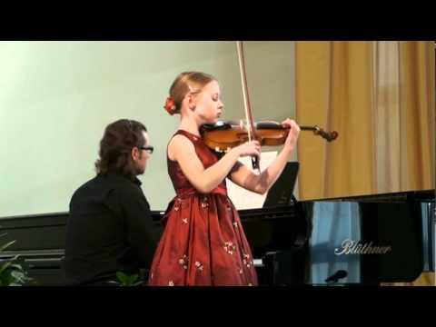 """H. Wieniawski """"Scherzo Tarantella"""" - Ugnė Liepa Žuklytė (9 Years)"""