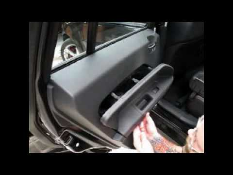 Caliber Door Panel Romval Youtube