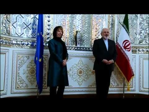 Catherine Ashton in Iran -  Meeting with Foreign Minister of Iran